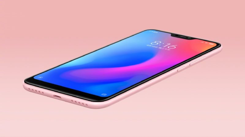"Xiaomi Redmi 6 Pro with iPhone X like ""Notch"" laeks and render confirmed."